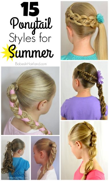 15 Ponytail Styles for Summer from BabesInHairland.com #ponytail #summerhair #hair #hairstyle15 Ponytail Styles for Summer from BabesInHairland.com #ponytail #summerhair #hair #hairstyle