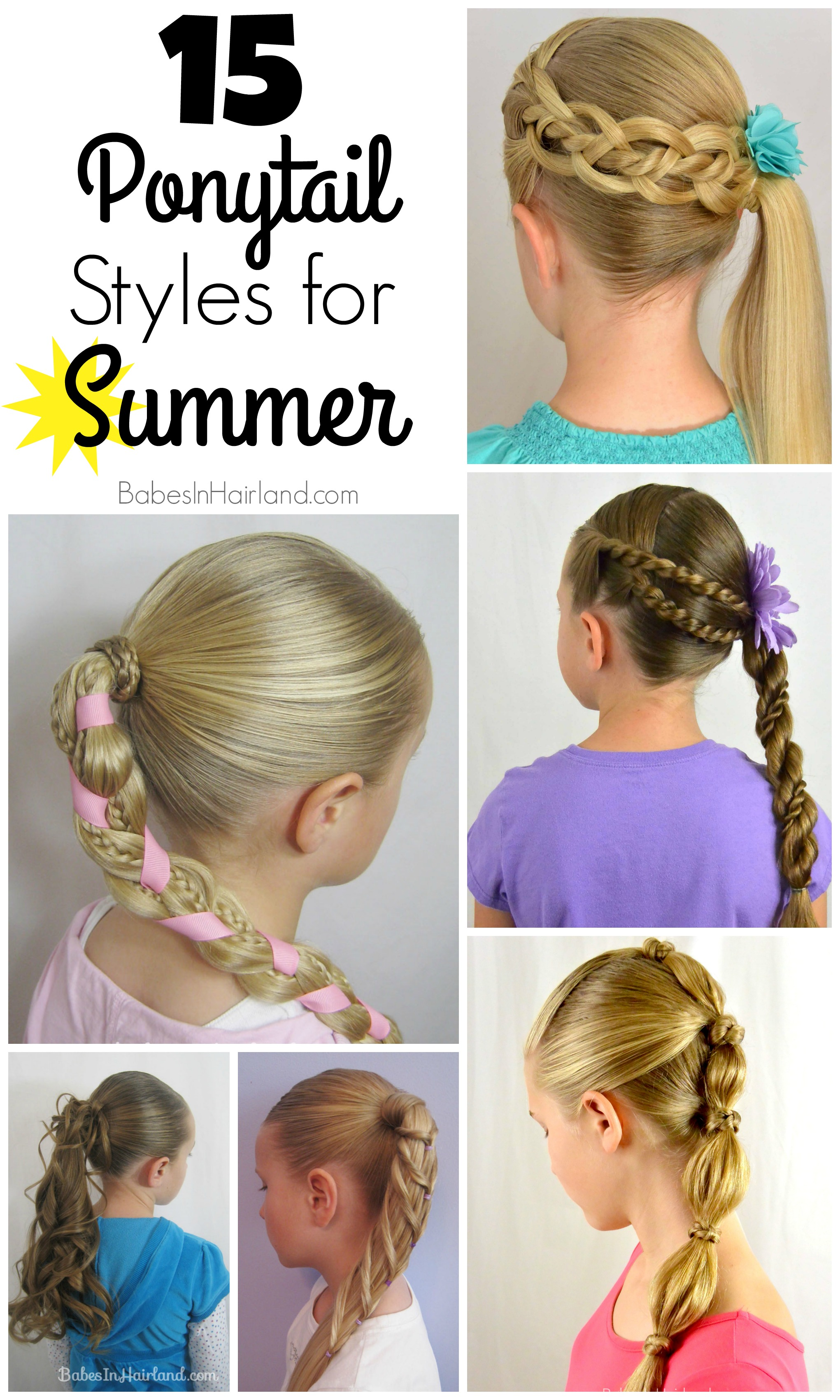 15 Summer Gel Nails: 15 Ponytail Styles For Summer