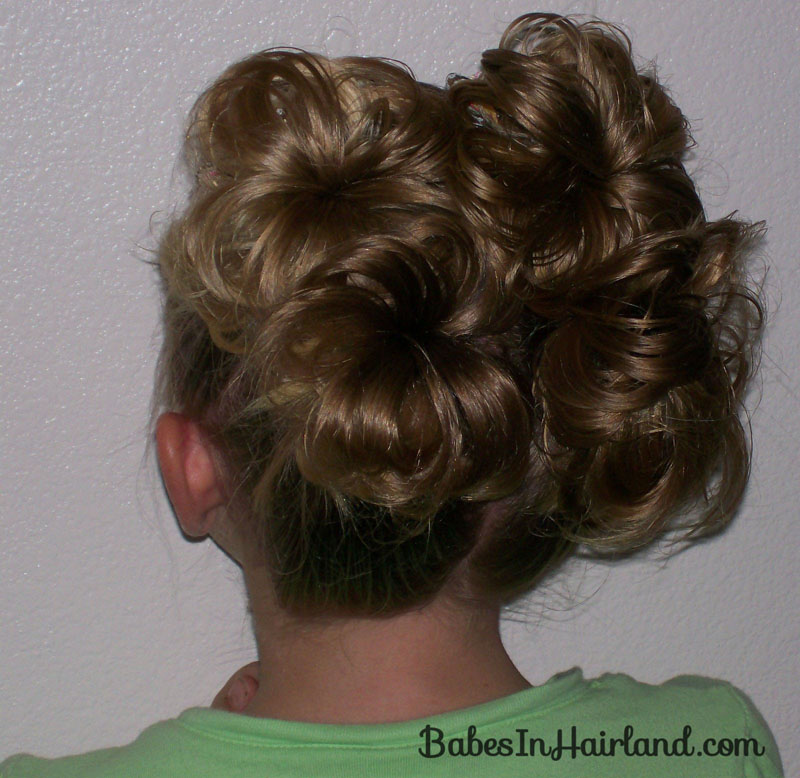 fashion show hairstyles : Fancy Schmancy Buns - Babes In Hairland