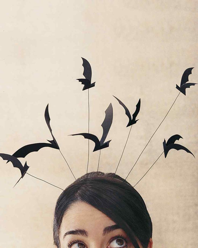 15+ Easy DIY Halloween Hair Accessories - Babes In Hairland