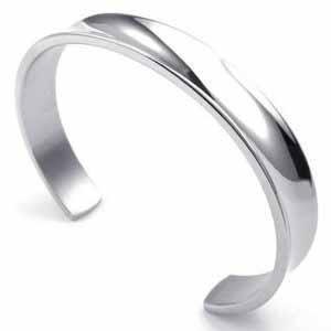 Sterling Silver Hair Tie Bracelet