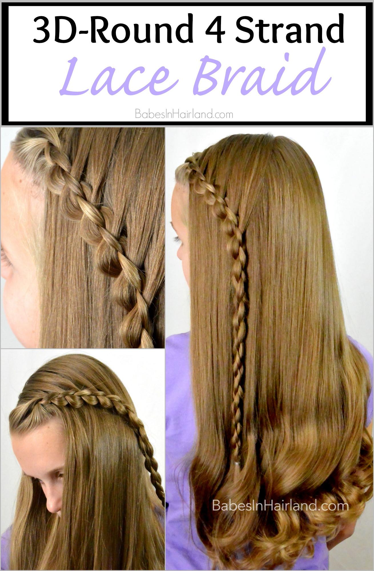 Fine 4 Strand Round Hair Braid Braids Short Hairstyles Gunalazisus