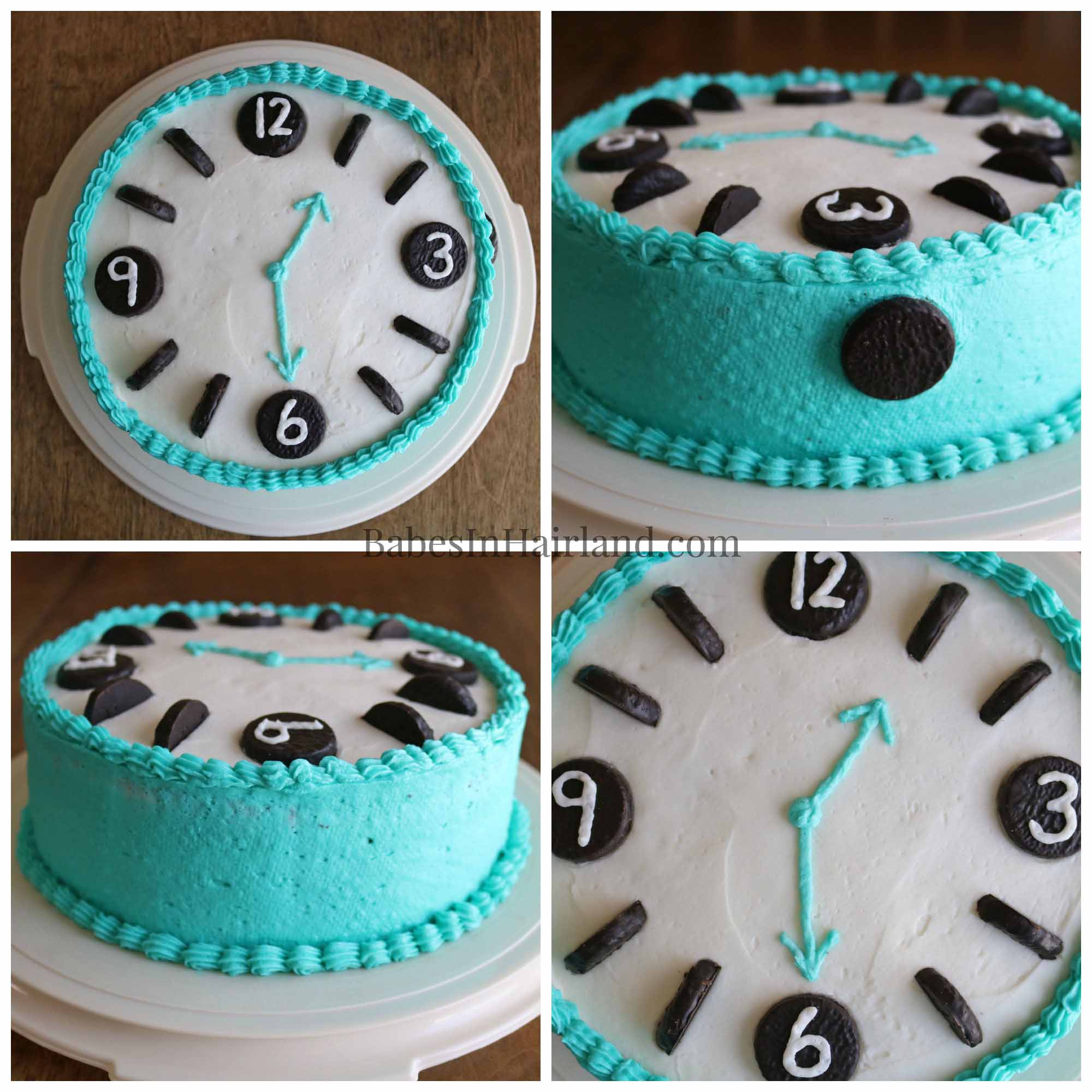 Fine If You Have A Watch Or Clock Lover At Your House This Cake Takes Personalised Birthday Cards Arneslily Jamesorg