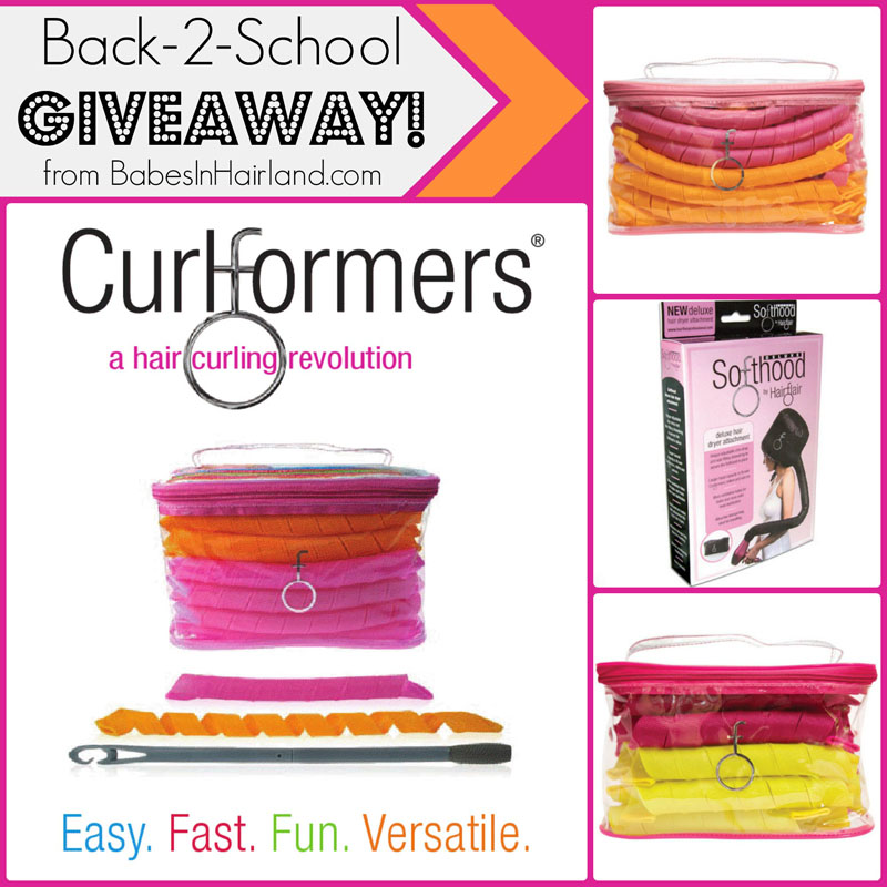 Back-2-School CurlformersCoCurlformers Giveaway from BabesInHairland.com