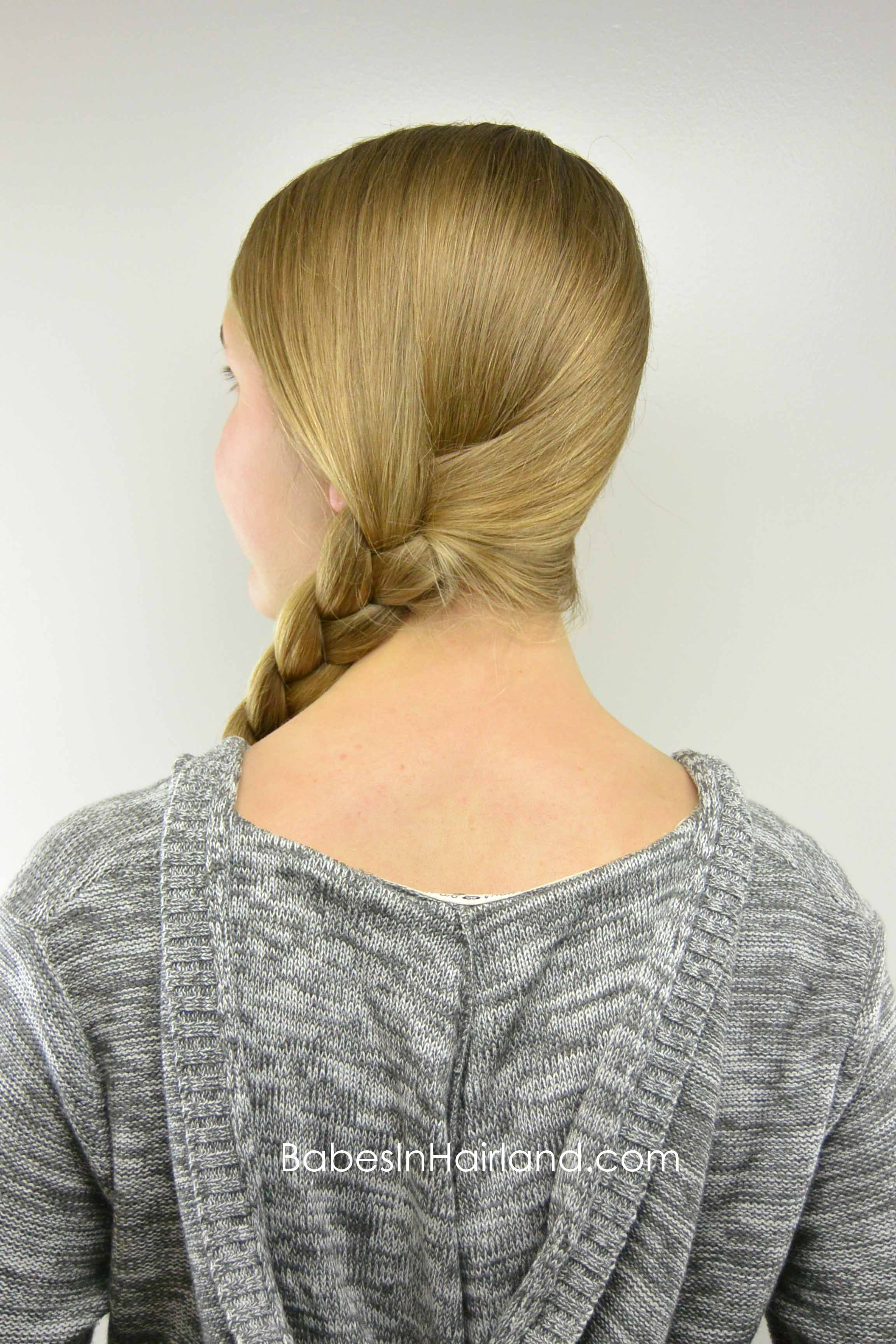 Easy Amp Edgy Braided Style Teen Style Babes In Hairland