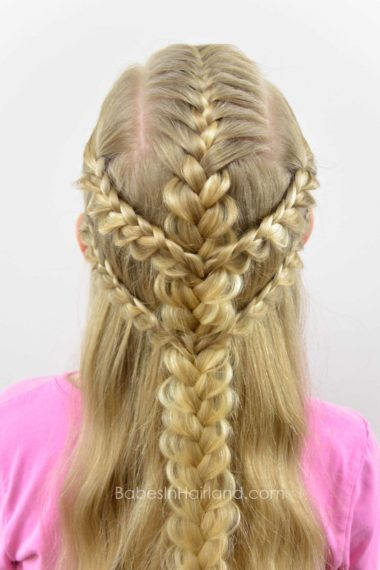 how to braid braids close together