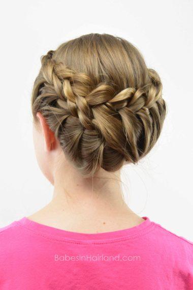 Lace Braid Updo | Wedding Hair | BabesInHairland.com #hair #lacebraid #hairstyle #bridal #wedding