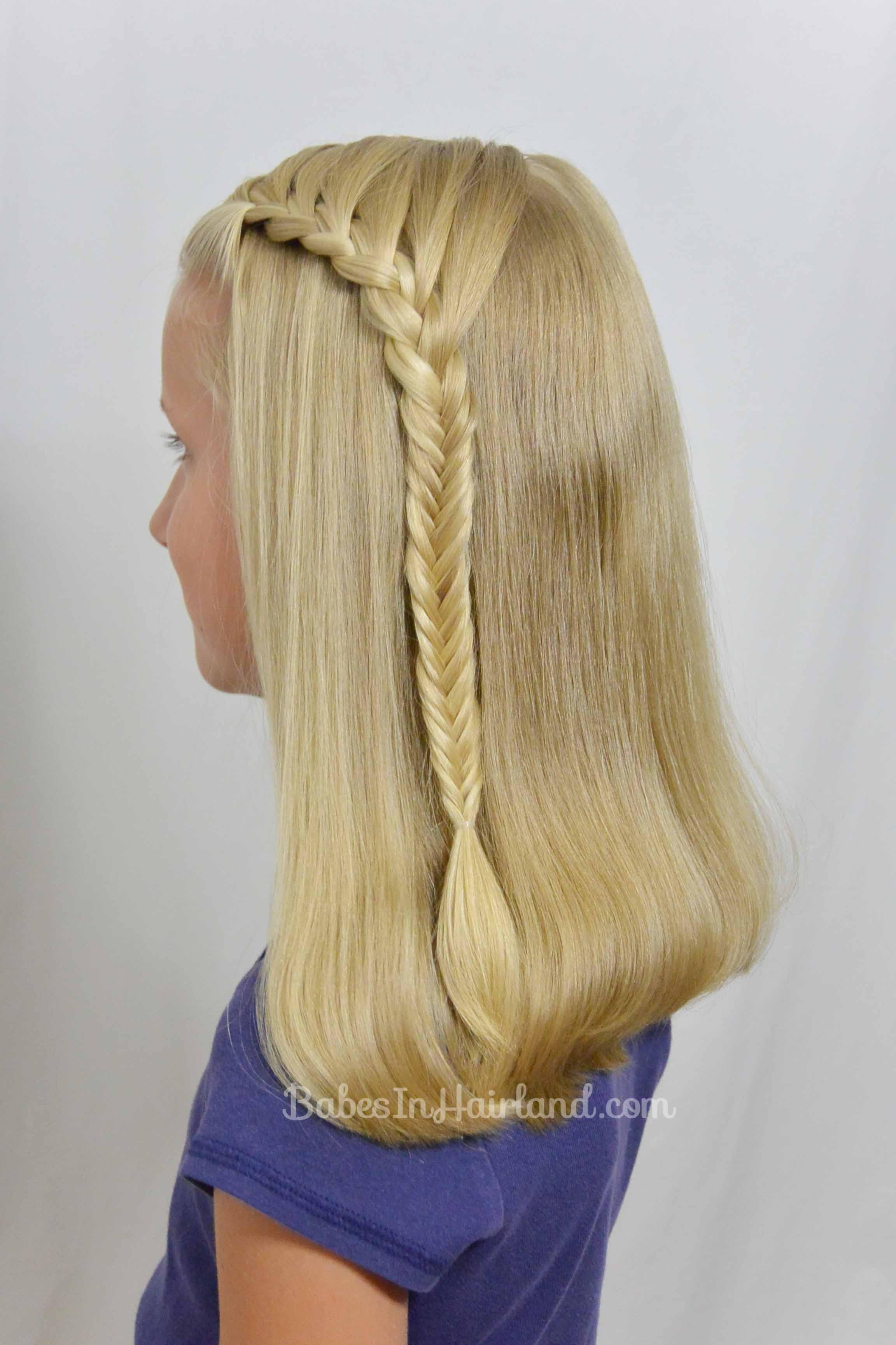 Красивые косички на распущенные волосы как сделать