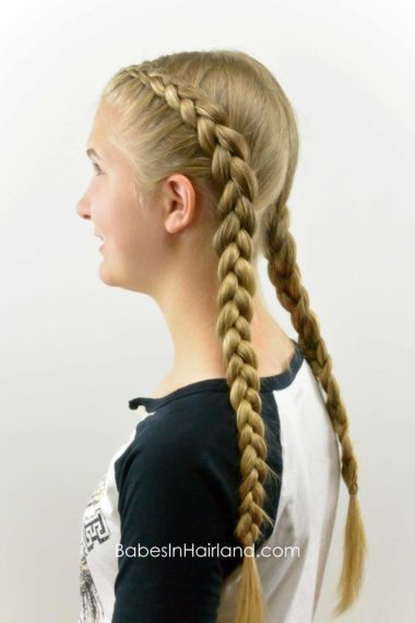How To Tight Dutch Braids On Yourself Babes In Hairland