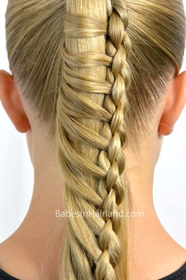 hair braids styles pictures 4 strand ladder braid in hairland 9215