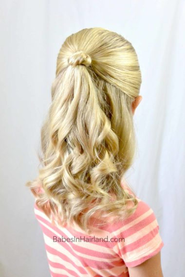 Knot Topped Pony Amp Chi Arc Review Babes In Hairland