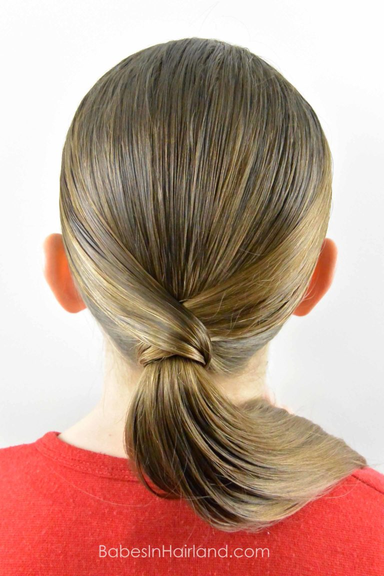 teen haircuts v wrapped ponytail from babesinhairland ponytail 4476