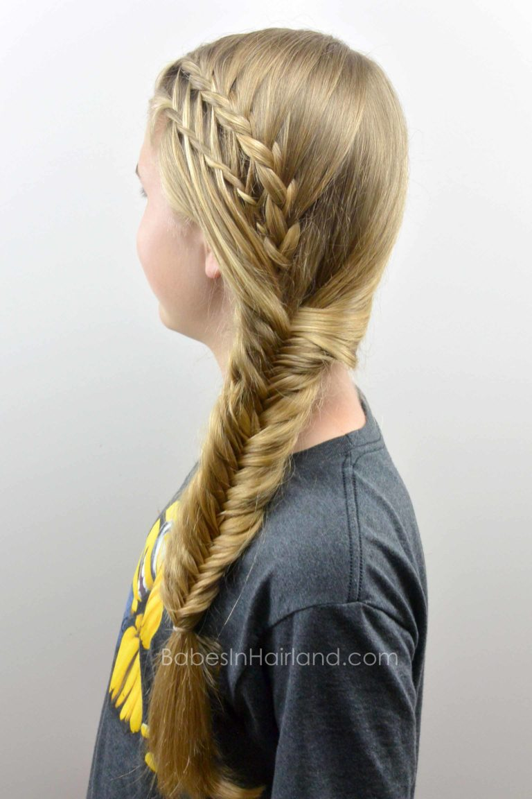 Feather Braided Fishtail Combo From Babesinhairland Com