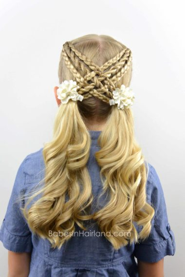 Woven Braids & Twists from BabesInHairland.com #braids #ponytails #ropetwists #hair #hairstyle
