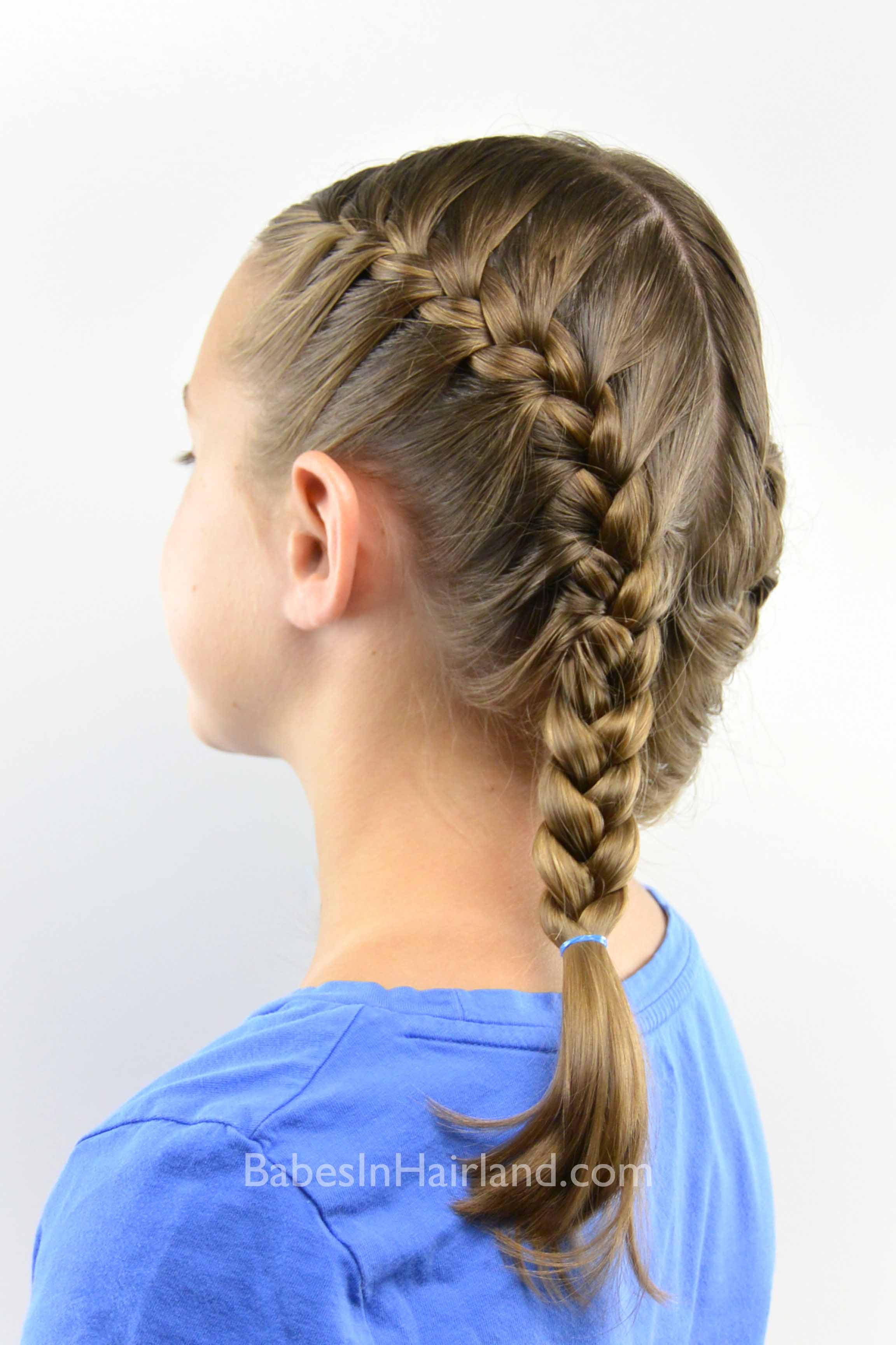 Groovy How To Get A Tight French Braid Babes In Hairland Short Hairstyles Gunalazisus