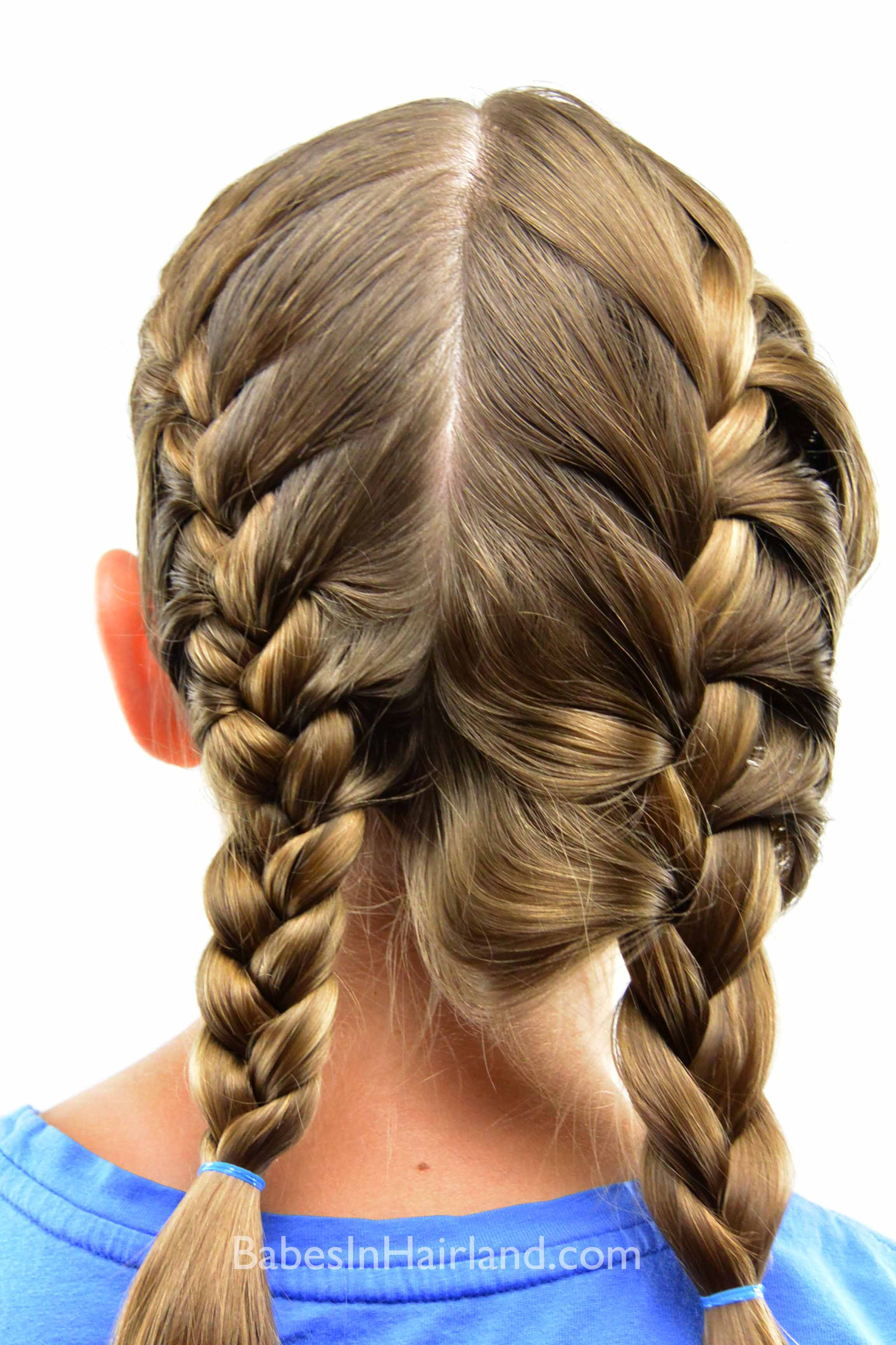Awe Inspiring How To Get A Tight French Braid Babes In Hairland Short Hairstyles Gunalazisus
