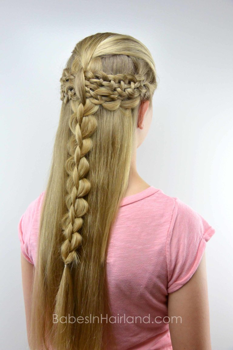 4 strand braid boho style from babesinhairlandcom