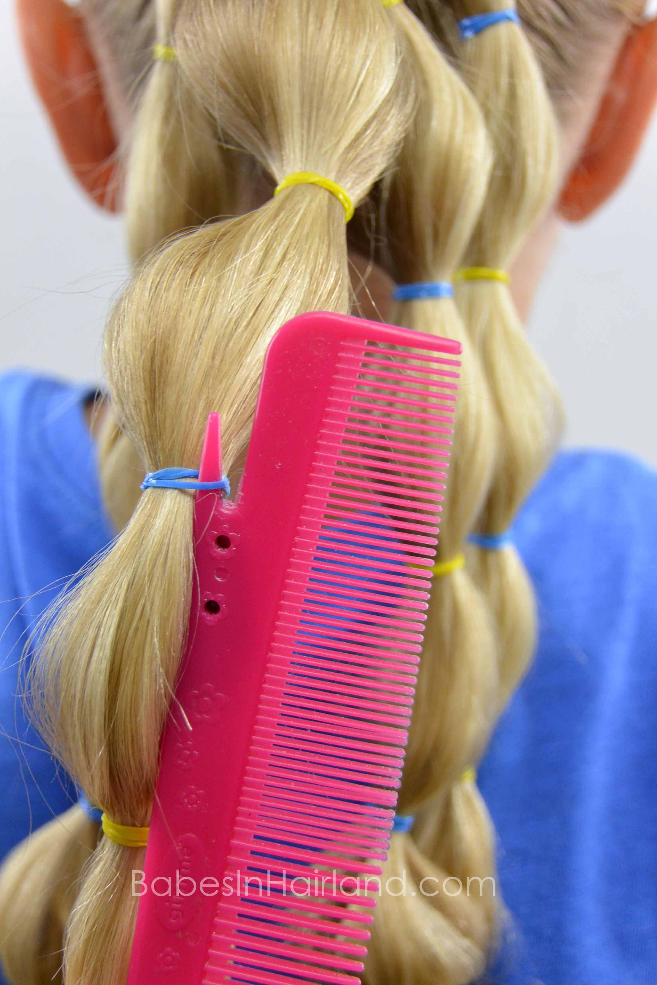 Easily Remove Elastics w/a Cutter Comb - BabesInHairland.com #hair #elastics #comb