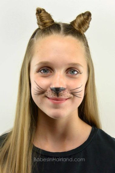 cat hair styles cat ears using your own hair 2 hairstyle 1648