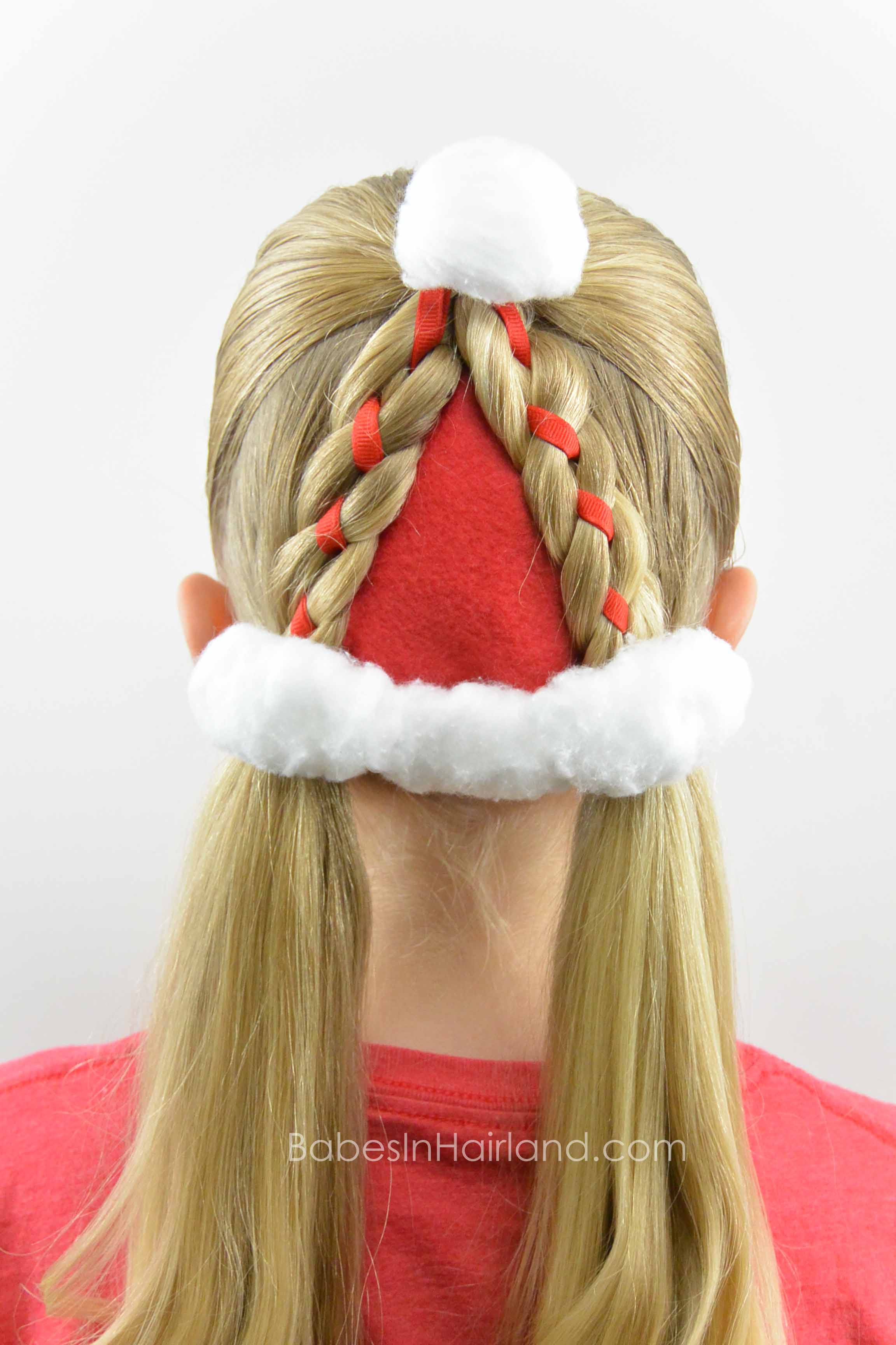 ideas for hair up styles santa hat hairstyle in hairland 7422