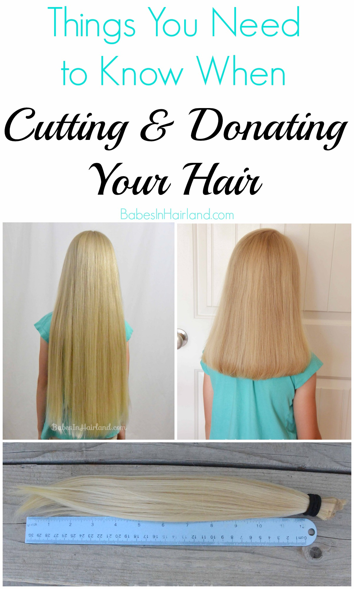 Things You Need To Know When Cutting Amp Donating Your Hair