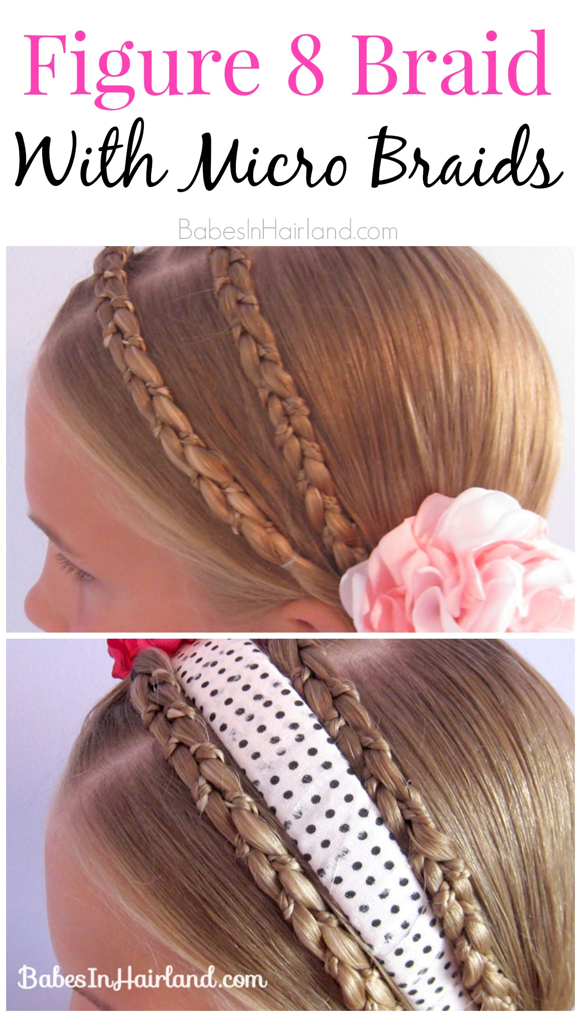 Figure 8 Braid with Micro Braids from BabesInHairland.com