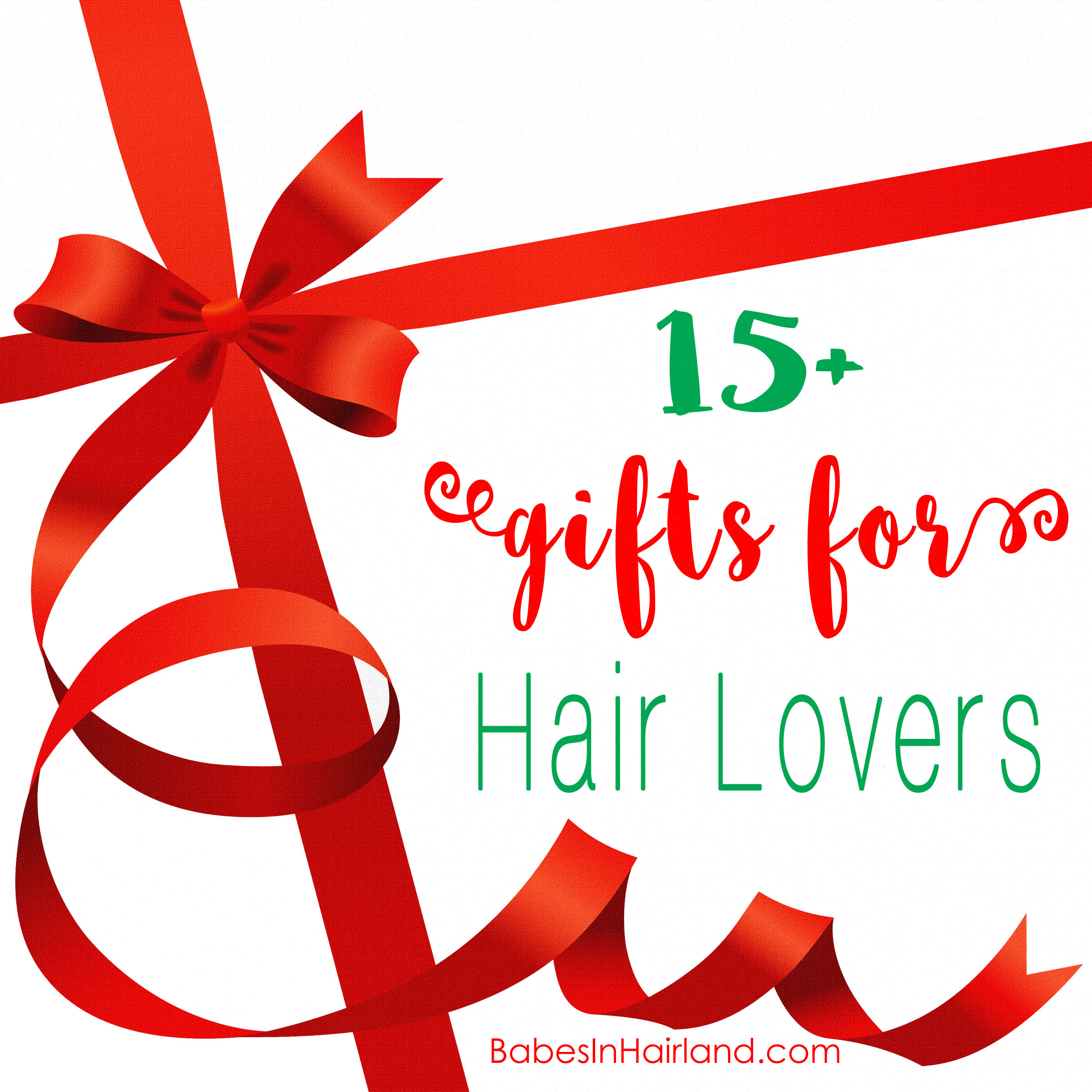 Gifts for Hair Lovers from BabesInHairland.com #christmas #gift #hairlover #giftideas