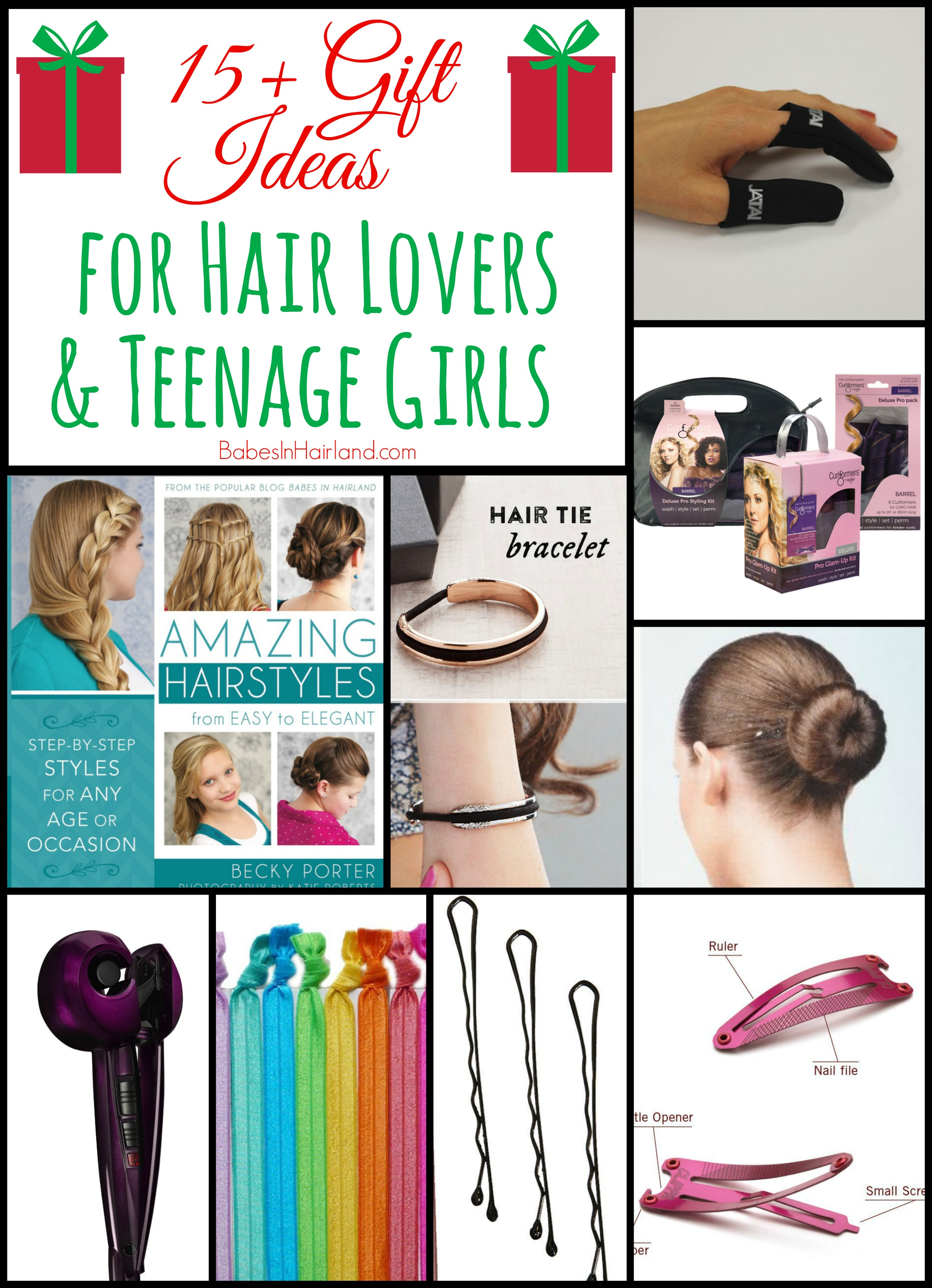 Gift Ideas for Hair Lovers or Teenage Girls from BabesInHairland.com ...