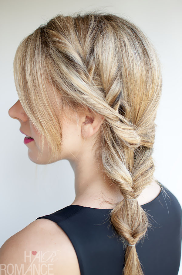 20+ Topsy Tail Hairstyles for Any Age  Babes In Hairland - Fishbone Braid Hairstyles