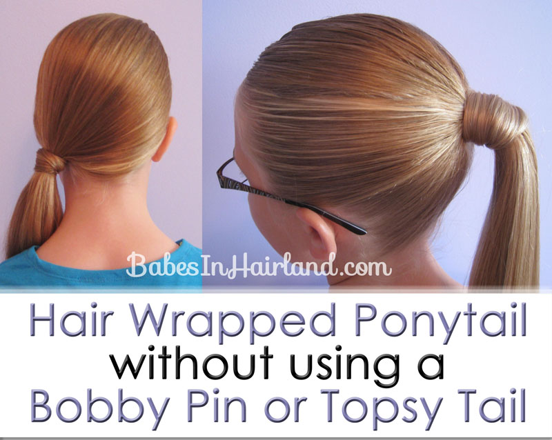 Astonishing Hair Wrapped Ponytail Our Way Babes In Hairland Short Hairstyles For Black Women Fulllsitofus