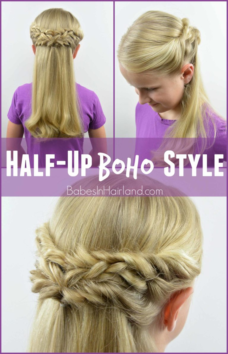 Half Up Boho Style From Babesinhairland Com Boho Hair