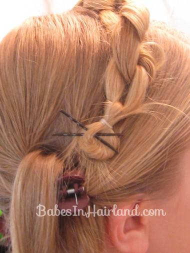 Chunky Knot Milkmaid Braids - BabesInHairland.com (10)