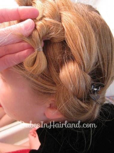 Chunky Knot Milkmaid Braids - BabesInHairland.com (11)