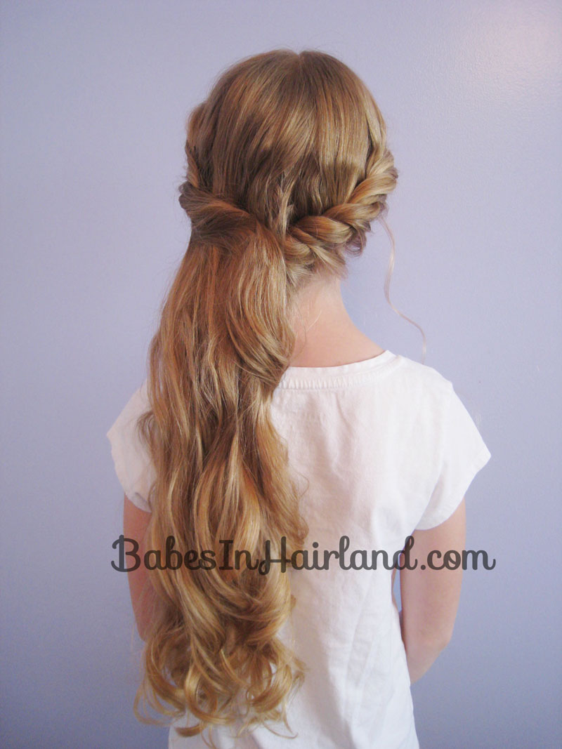 Outstanding Sideswept Twist Amp Curls Babes In Hairland Hairstyle Inspiration Daily Dogsangcom