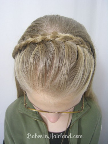 Lace Braid Headband from BabesInHairland.com