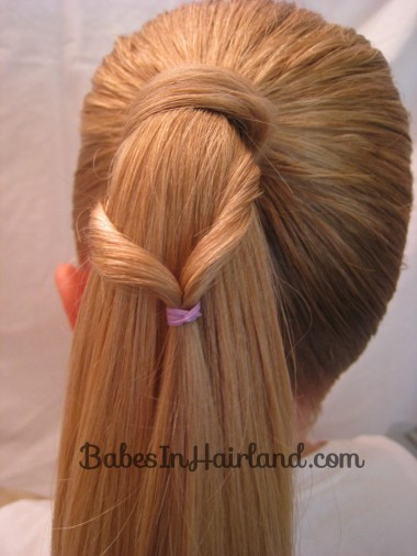 Chevron Ponytail from BabesInHairland.com (4)