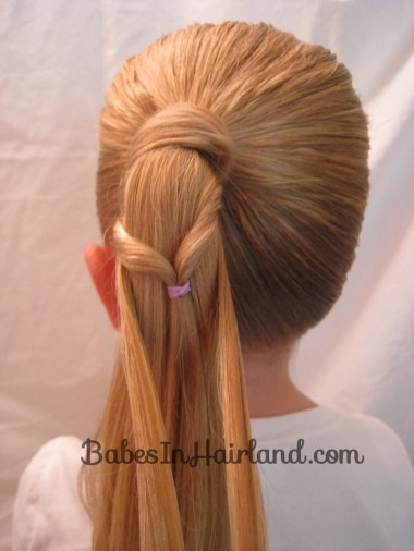 Chevron Ponytail from BabesInHairland.com (5)