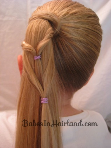 Chevron Ponytail from BabesInHairland.com (6)