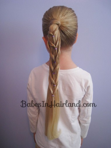 Chevron Ponytail from BabesInHairland.com (8)