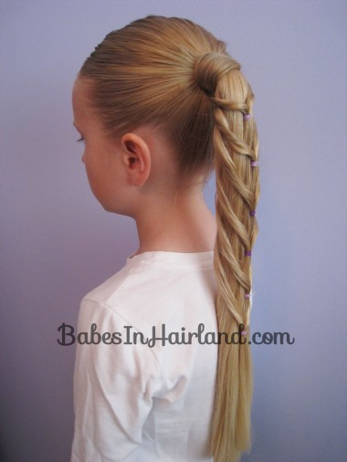 Chevron Ponytail from BabesInHairland.com (10)
