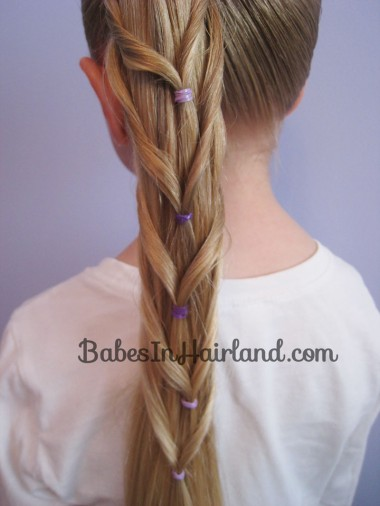 Chevron Ponytail from BabesInHairland.com (11)