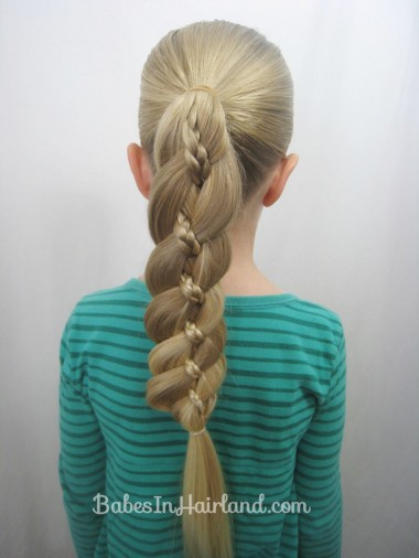 4 Strand Braid with Micro Braid | BabesInHairland.com
