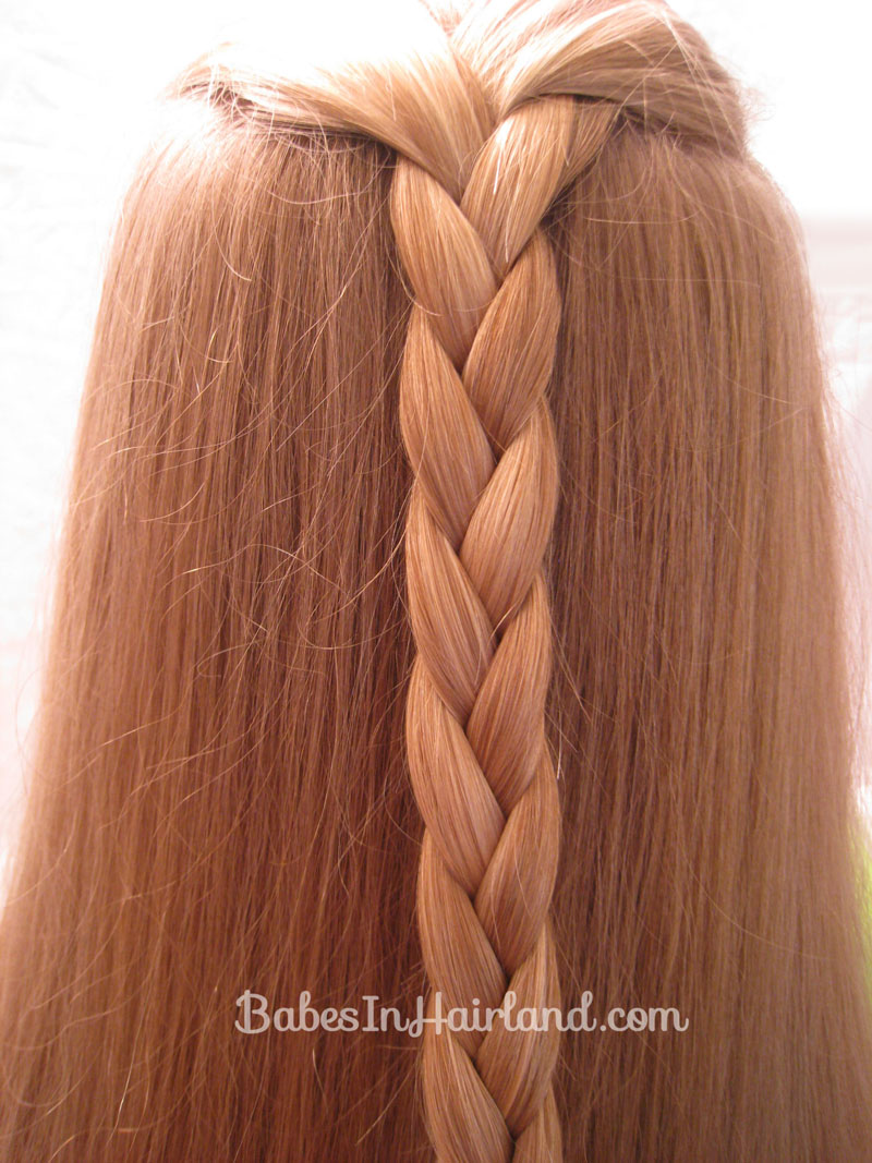 Strange Easy Triple Braided Hairstyle Babes In Hairland Hairstyles For Women Draintrainus