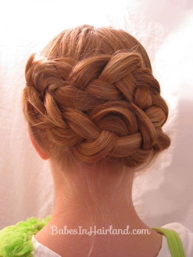 Triple Braided Updo from BabesInHairland.com (7)