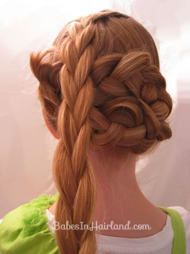 Triple Braided Updo from BabesInHairland.com (8)