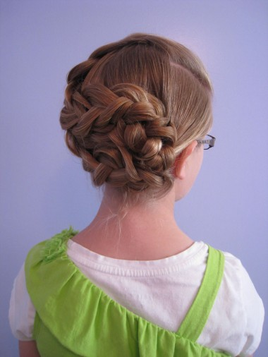 Triple Braided Updo from BabesInHairland.com (13)