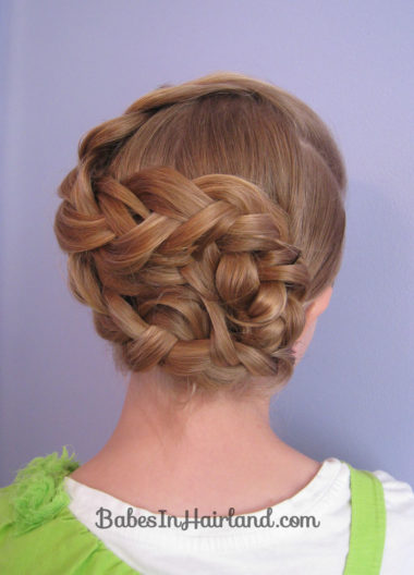 Triple Braided Updo from BabesInHairland.com (17)