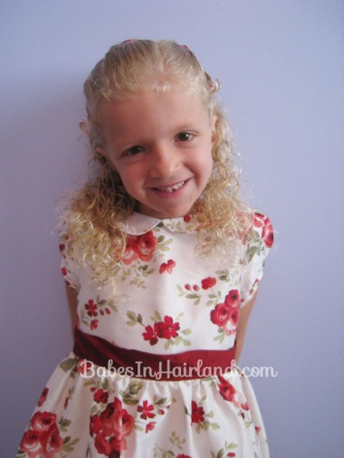 Simple Style for Curly Hair from BabesInHairland.com (7)