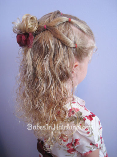 Simple Style for Curly Hair from BabesInHairland.com (4)