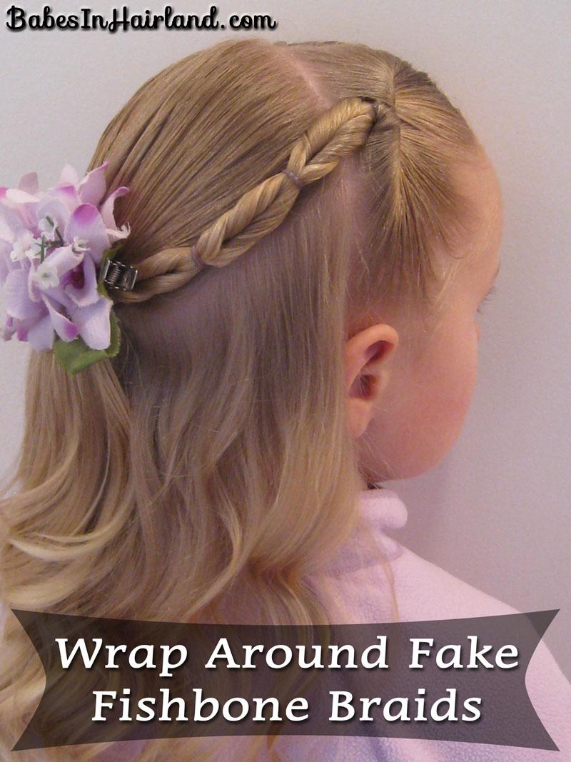 Wrap Around Fake Fishbone (1)
